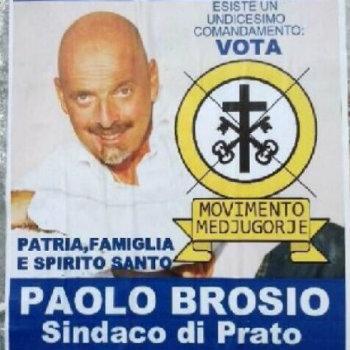Paolo Brosio - Manifesto