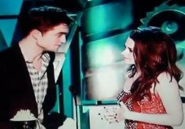 Robert e kristen agli MTV 2011