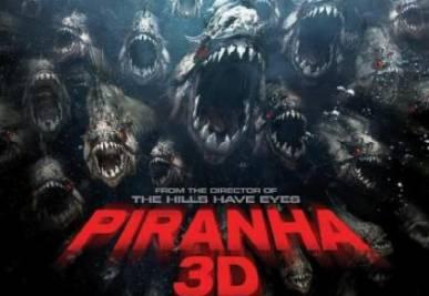 La locandina di Pirahna 3D