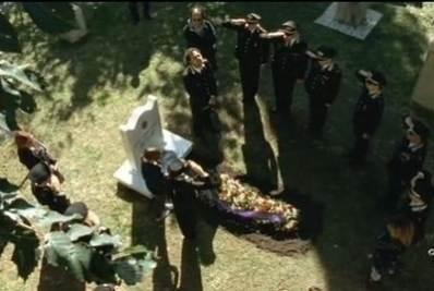 Il funerale di Flavia Ayroldi