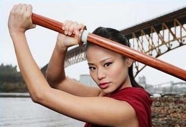 Heaven (Jamie Chung), protagonista di Samurai Girl
