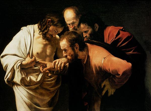Incredulità di san Tommaso di Caravaggio