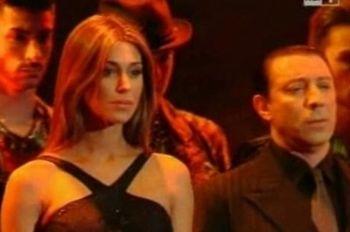 Belen sul palco di Sanremo