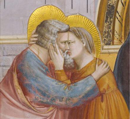 Santi Anna e Gioacchino (Giotto, Cappella degli Scrovegni)