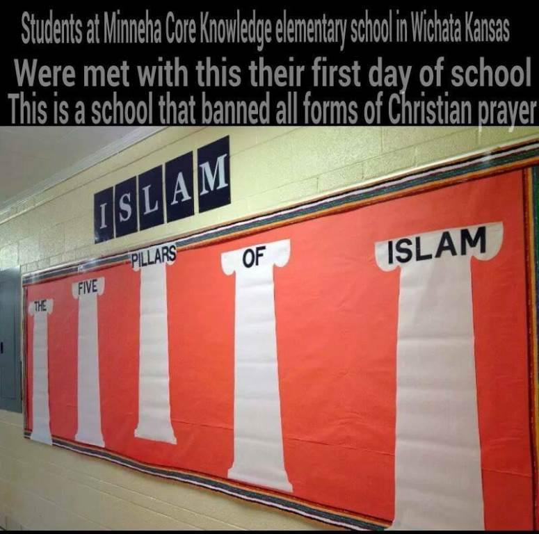 scuola islamica (infophoto)