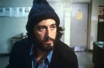 Al Pacino nel ruolo del poliziotto Serpico