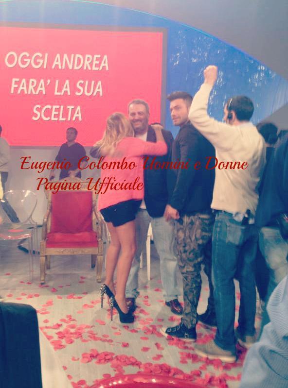 Eugenio Colombo e Francesca Del Taglia in studio con Alfonso
