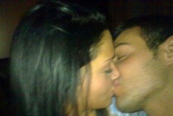 Il primo bacio da fidanzati