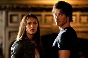 Elena Gilbert e Damon Salvatore