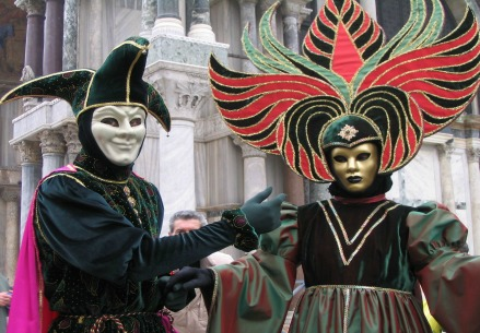 Carnevale 2016, le maschere di Venezia