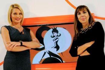 Simona Ventura e Maria Latella