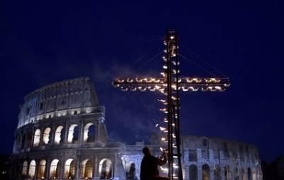 Il rito al Colosseo
