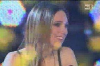 Nathalie subito dopo la vittoria a X Factor 4