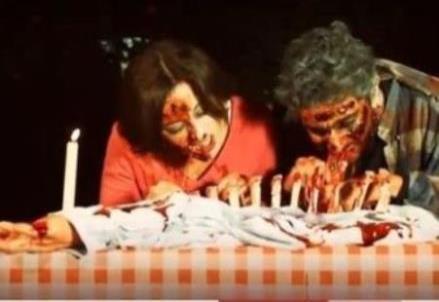 la cena romantica di Zombie love