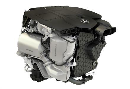 Un motore diesel di Daimler