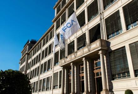La sede di Fca a Torino