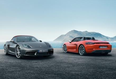Le nuove Porsche 718 Boxter e 718 Doxter S