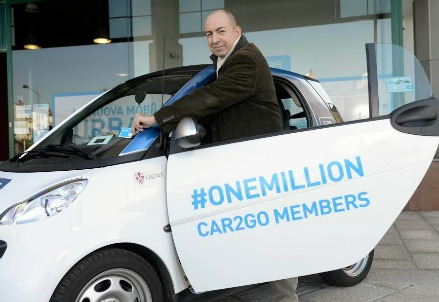 Gianni Martino, country manager di Car2go