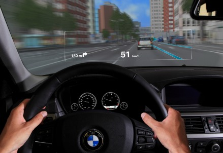L'head up display di Bmw