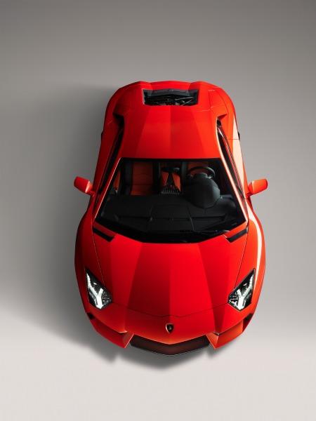 La Lamborghini Aventador