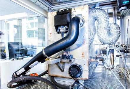 Il prototipo della Fuel-Cell e-Bio
