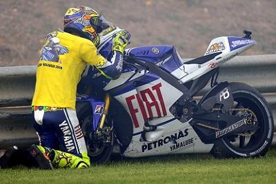 Rossi in gara