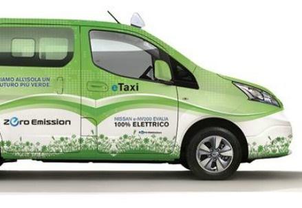 Il primo Taxi Van italiano: Nissan e-NV200 Evalia