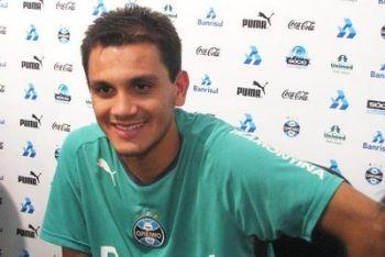 Fabio Santos ai tempi del Gremio (Foto Ansa)