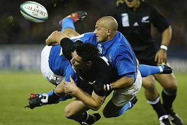 La nazionale All Blacks