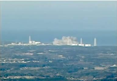 L'esplosione nell'impianto nucleare di Fukushima