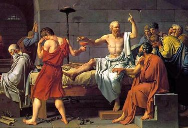 Jacques-Louis David, La morte di Socrate (1787)