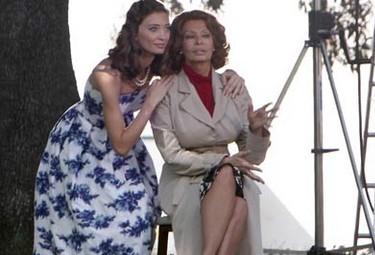 Sophia Loren (a destra) ospite del 42° Premio Barocco