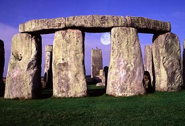 I monoliti di Stonehenge