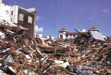terremoto foto di repertorio