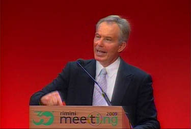 MEETING OF RIMINI/ The full text of the speech by Rt Hon Tony Blair
