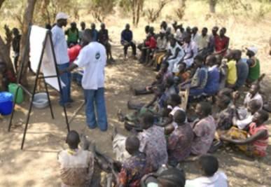 Il lavoro dei cooperanti Avsi in Sud Sudan