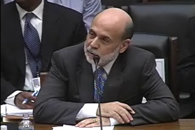Infophoto - Ben Bernanke