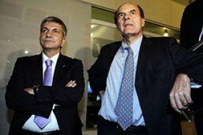 Nichi Vendola e Pier Luigi Bersani (Imagoeconomica)