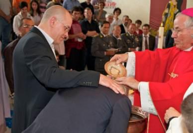 Il battesimo nel carcere di Padova