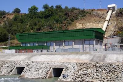 La centrale Hidromaule Lircay