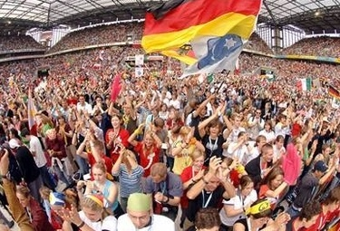 The visible Church: Millions of you catholics gather with the Pope each World Youth Day