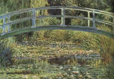 Claude Monet, Le Bassin aux nymphéas, harmonie verte, 1899 c. (particolare)