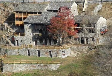 Il villaggio della Furfulera in Val Tartano