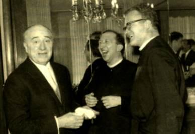 Don Giussani e Angelo Zola