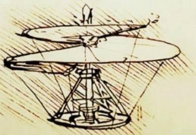L'elicottero di Leonardo