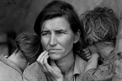 Dorothea Lange photo, Migrant Mother