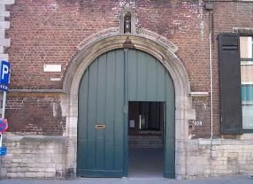 "The ""Green Door"" at Louvain"