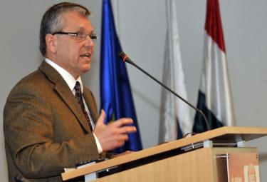 Gyorgy Matolcsy, ministro dell'Economia ungherese