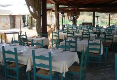 Il ristorante Le Pinnette