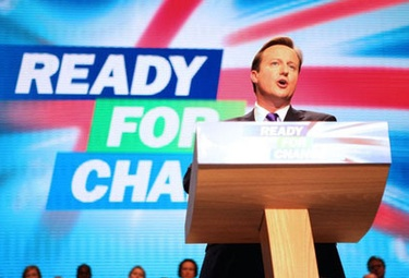 Prime Minister David Cameron is ready for change in England, but making it happen will be a battle.